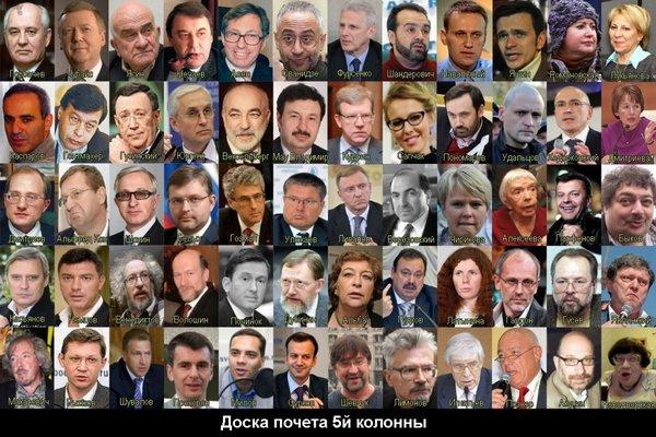 Народ России против «российской элиты»