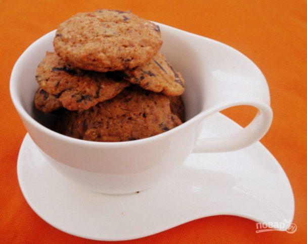 Тыквенное печенье к чаю
