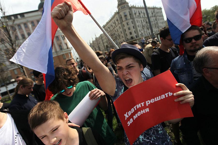 Почему молодежь в России не может без революционных настроений?