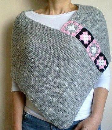 Интересная идея для любителей вязания.