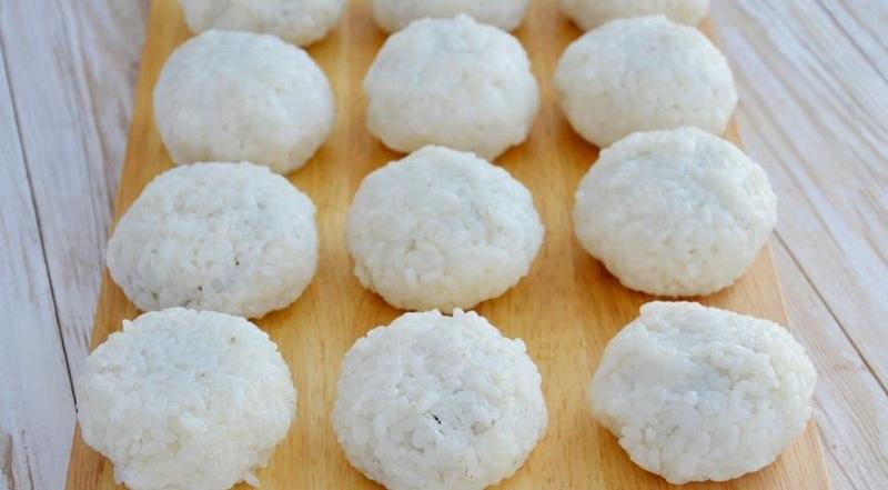 рисовые зразы с шампиньонами
