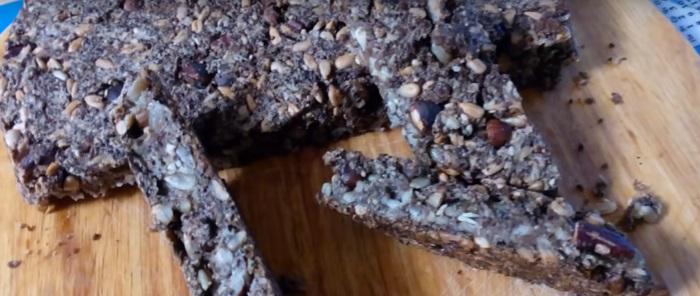 полезный хлеб в духовке
