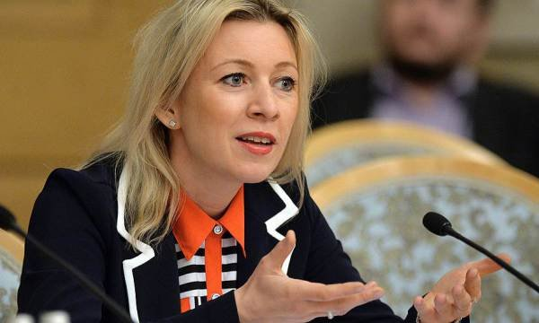 Каким будет ответ России на санкции США, анонсированный Марией Захаровой.