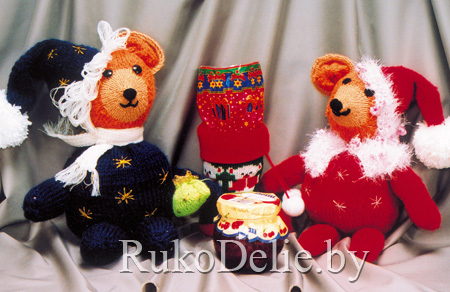 Рождественские мишки