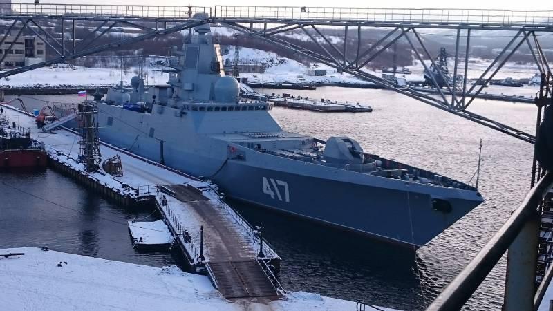 Очередные проблемы российского ВПК: ЗРК для новых фрегатов