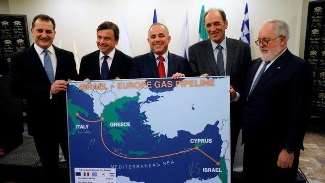Раз не может Америка, газ в Европу будет поставлять Израиль
