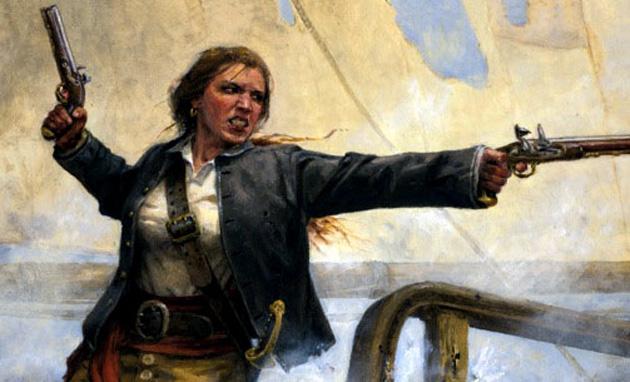 Самые известные женщины-пираты в истории
