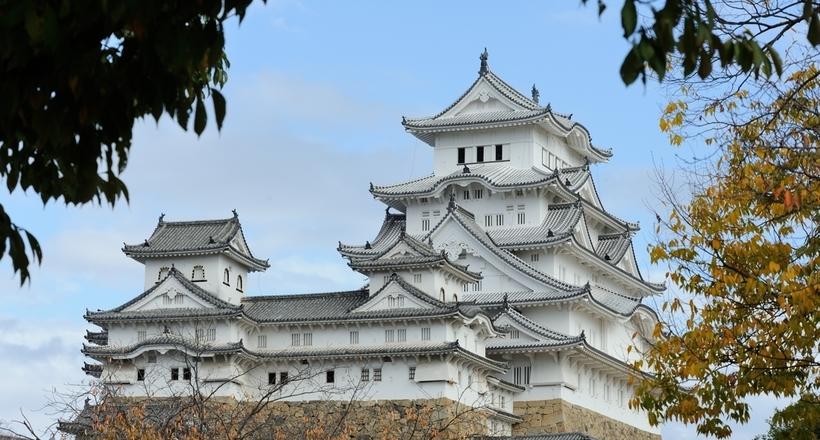 Замок белой цапли