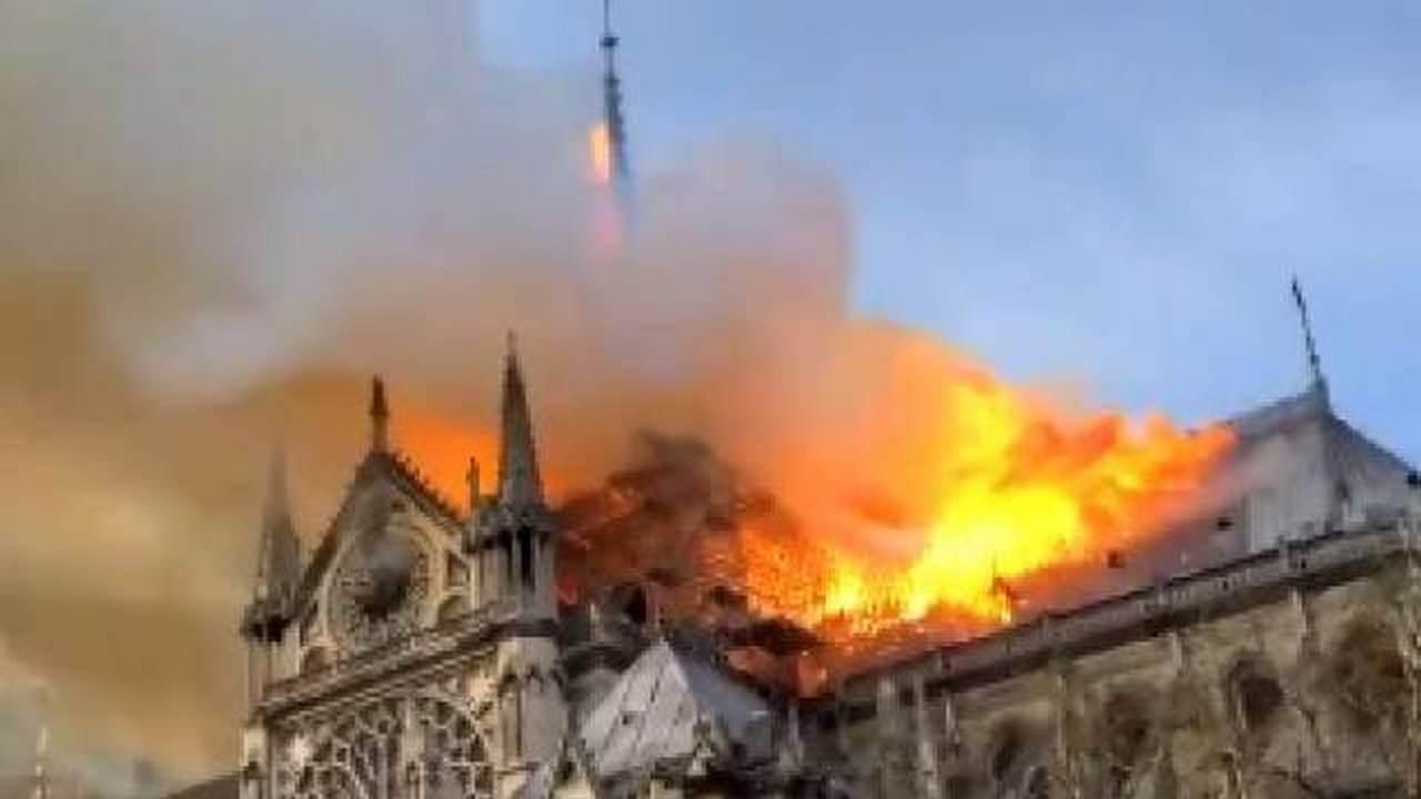Огонь Нотр-Дама подожжет всю Европу