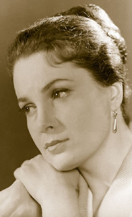 Одна из самых красивых советских актрис. | Фото: galya.ru.
