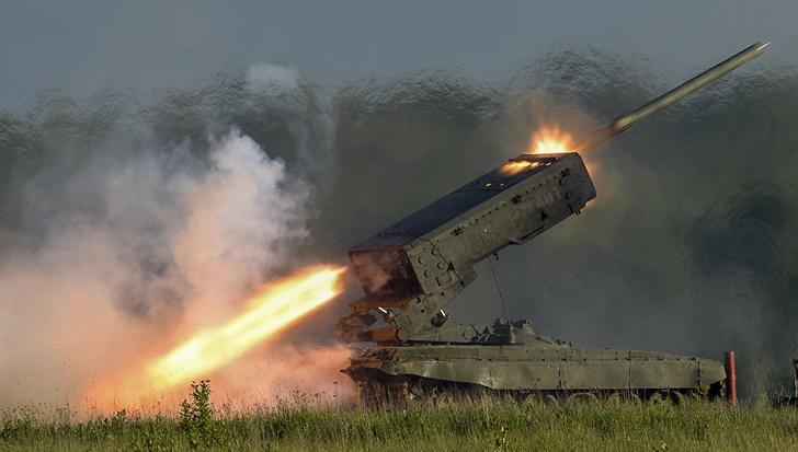 """Военные ВВО в Приамурье получили тяжелые огнеметные системы """"солнцепек"""""""