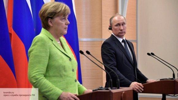 Меркель признала, что решить ситуацию в Сирии без Путина невозможно