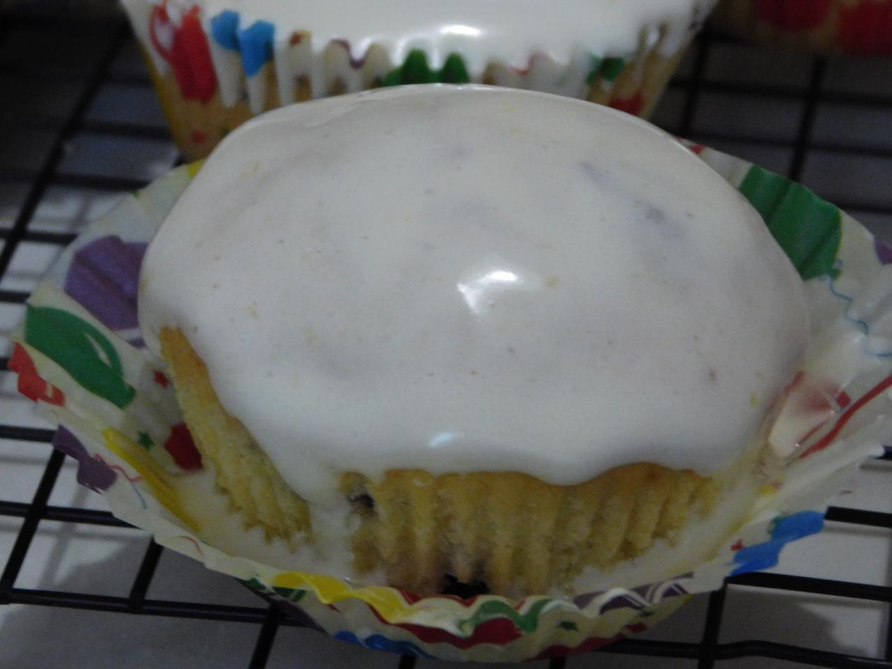 Похвастушечный кекс и обалденная глазурь на желатине (можно для куличей)