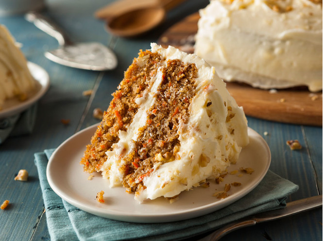 Десерт выходного дня: морковный торт