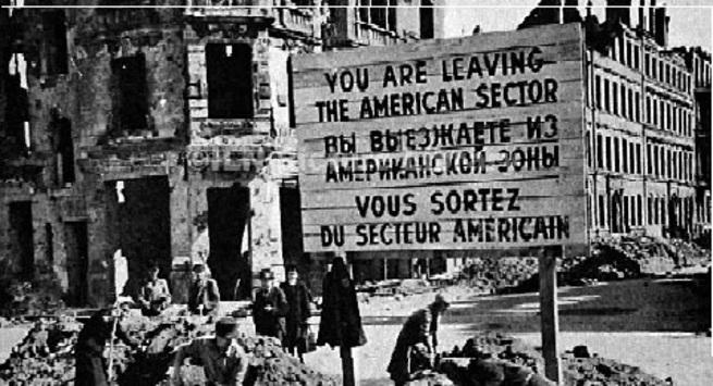 Блокада Западного Берлина в …