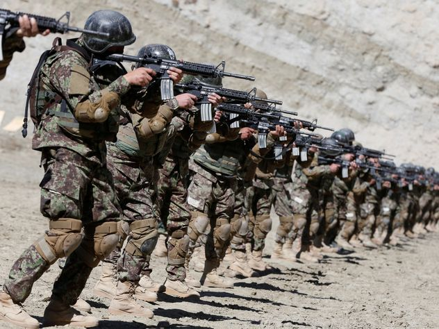 Афганистан попросил у России помощи для армии и полиции