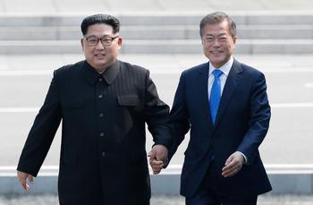Ким Чен Ын предложил южнокорейскому коллеге встречаться чаще