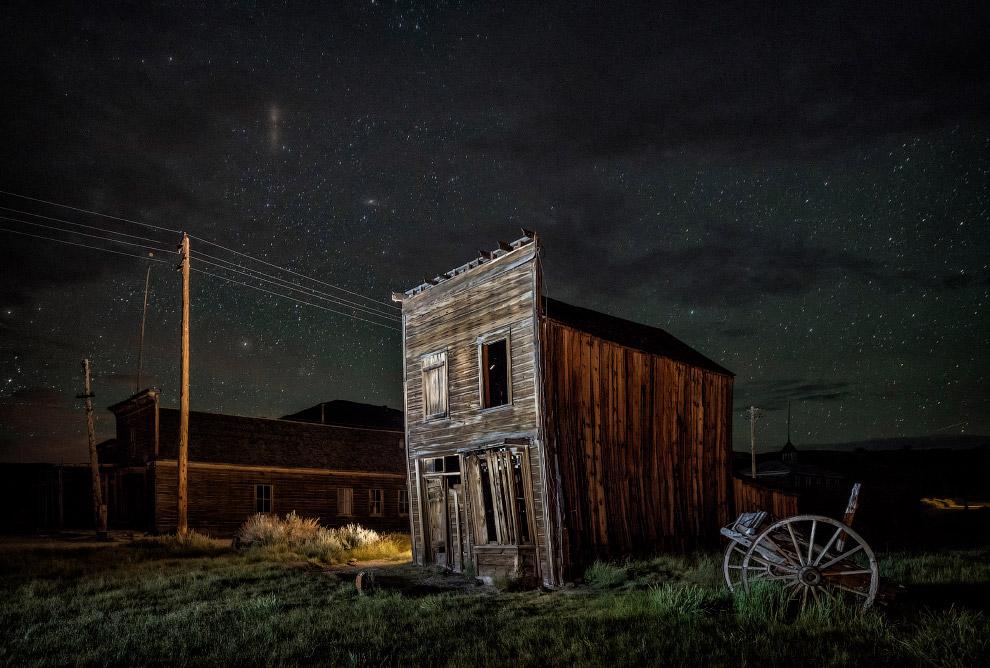 Боди - город-призрак в США