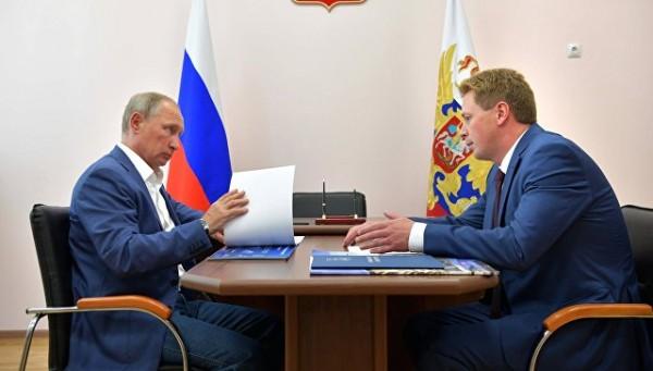 Президент России и губернато…