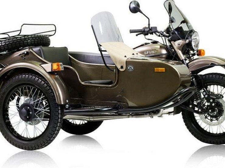 «Урал» выпустил новый мотоцикл: бутылка водки уже в «базе»