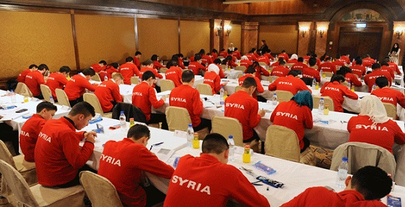 ВДамаске стартовал финал сирийской Школьной научной олимпиады