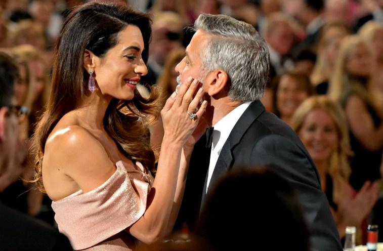 Джордж и Амаль Клуни: самые трогательные моменты пары в фотографиях
