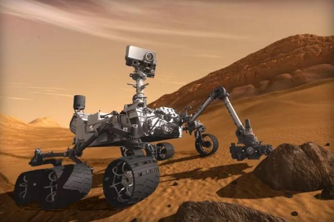 В NASA заявили, что марсоход Curiosity сделал уникальное открытие, обнаружив следы жизни на Марсе