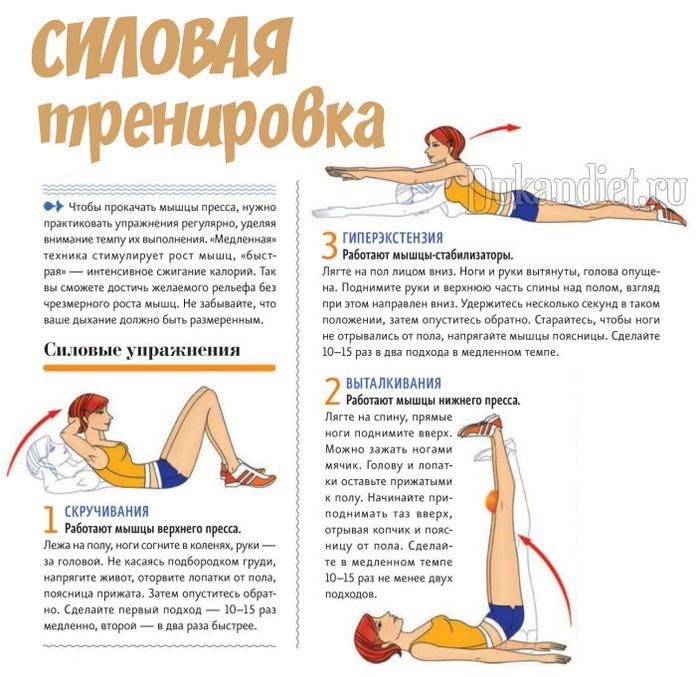 ПОХУДЕЙКИН ФИТНЕС. Упражнения для талии