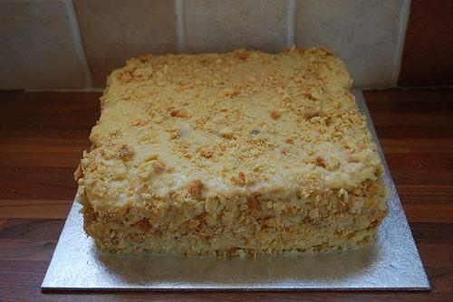 Слоеное тесто. Видео-рецепт. Торт Наполеон.