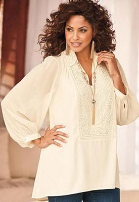 Нарядная белая блузка в омске