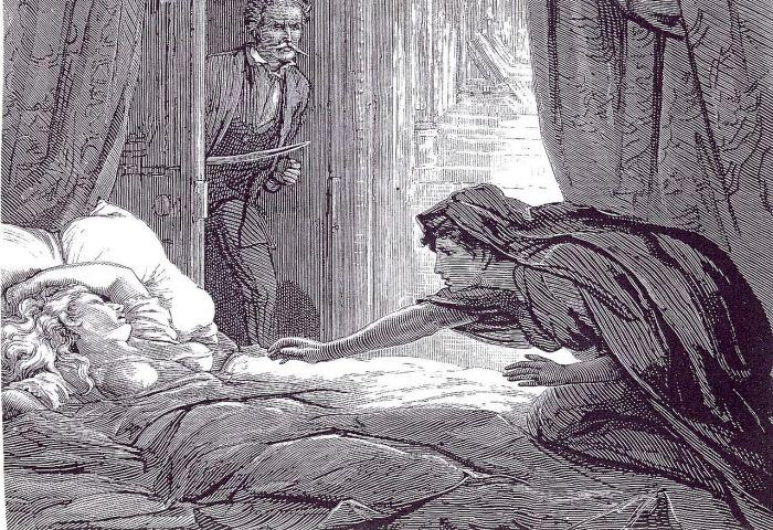 Иллюстрация для новеллы Джозефа Ле Фаню «Кармилла». | Фото: en.wikipedia.org.
