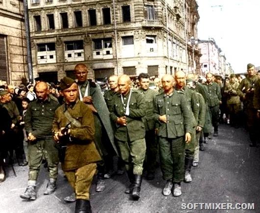 Жизнь пленных немцев в Советском союзе