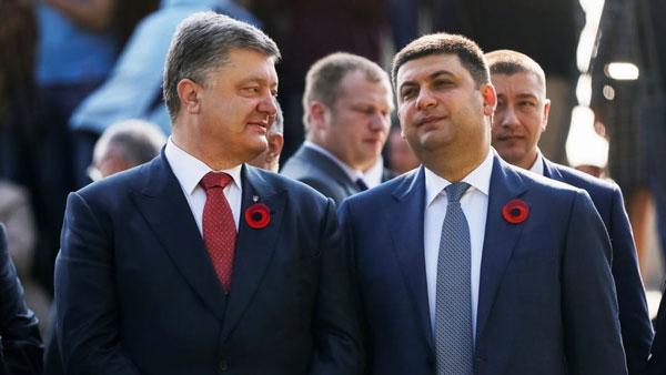 Порошенко отправляет в отставку Гройсмана