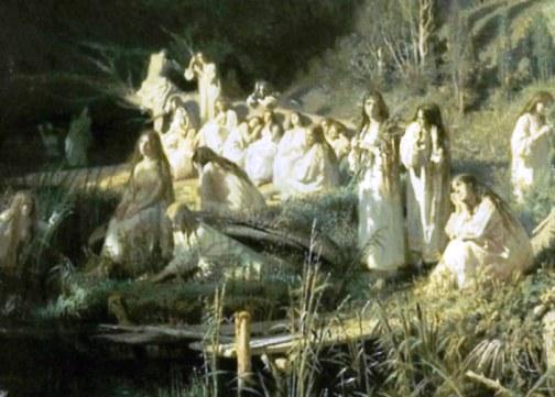 Мистическая история  — как успокаивали расшалившуюся картину Ивана Крамского «Русалки»