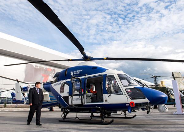 «Рособоронэкспорт» покажет на HeliRussia-2017 современные российские вертолеты