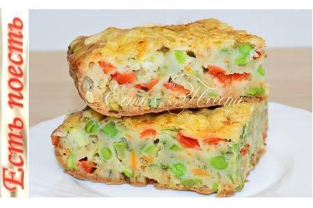 Фото к рецепту: Пирог с овощами