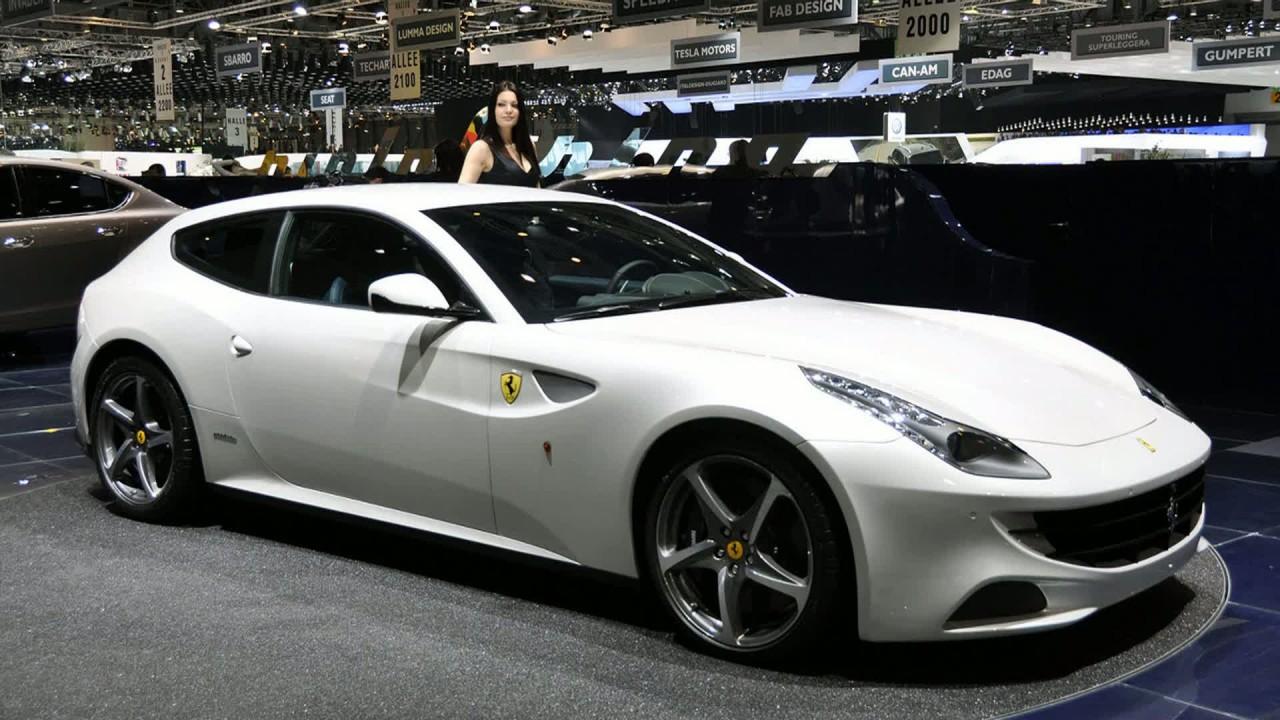 Ferrari FF 2011 Женева Auto Show