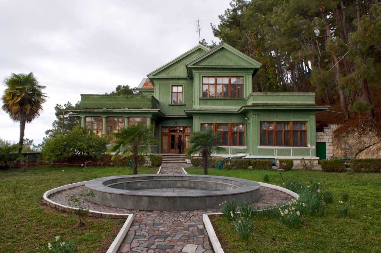 Государственная дача Сталина в Абхазии