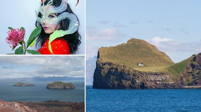 Загадка безлюдного острова в Исландии: В Интернете заподозрили, что одинокий дом принадлежит Бьорк