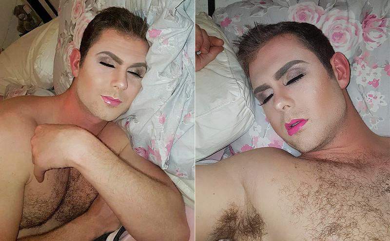 Спящий красавец: обманутая девушка отомстила парню