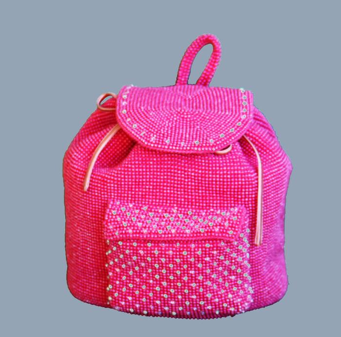 Вяжем бисерный рюкзачек