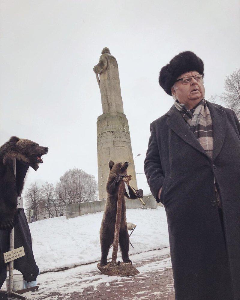 Фотограф документирует суровые улицы России с помощью iPhone Дмитрий Марков, в мире, жизнь, люди, фотограф