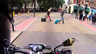 Пешеходы и мотоциклы - Разбор полётов