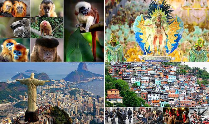 Интересные факты о Бразилии + Видео