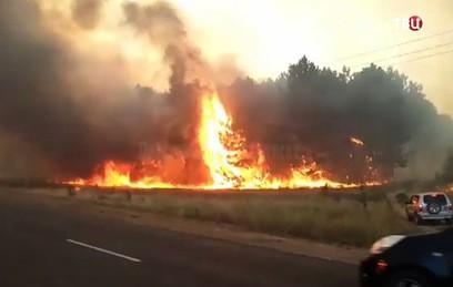 Крупный пожар в Ростовской области тушили более суток