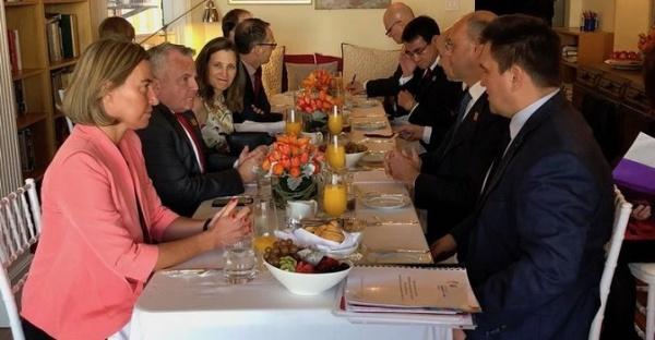 Страны G7 потребовали отКиева усилить борьбу скоррупцией
