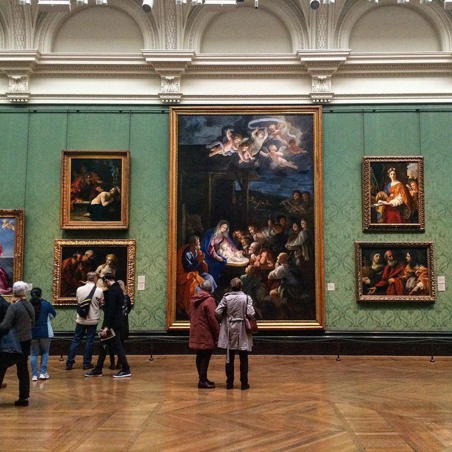 Лондонская национальная галерея (Лондон, Великобритания)