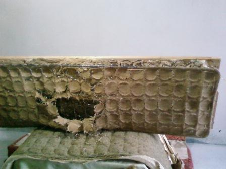 Как перетянуть старый диван