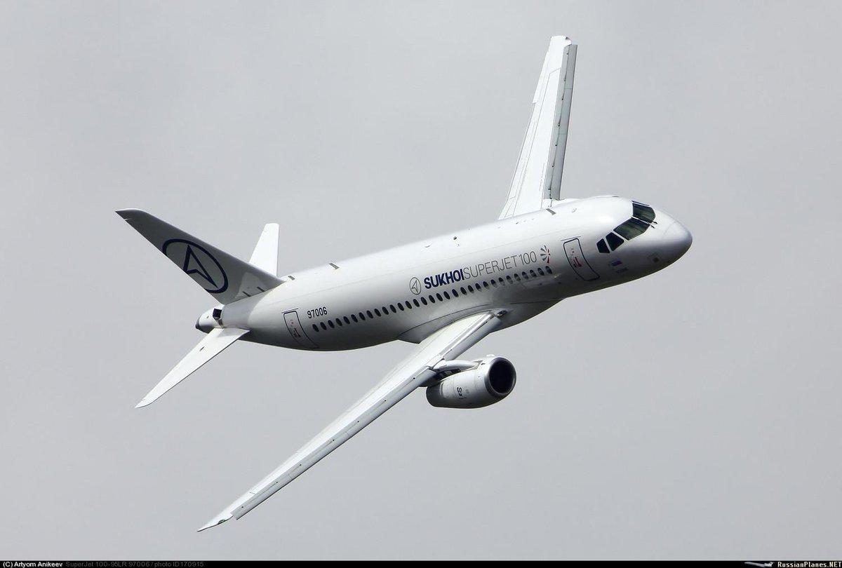 Компания Alexcina LLC намерена приобрести 12 бортов SSJ-100
