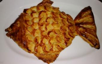 """Пирог """"Золотая рыбка"""" из сло…"""